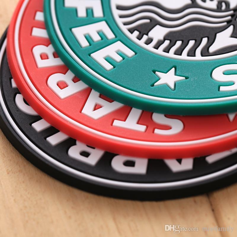 2017 yeni Silikon Altlıkları Kupası termo Yastık Tutucu Starbucks deniz hizmetçi kahve Altlıkları Kupası Mat Ücretsiz Kargo İçin