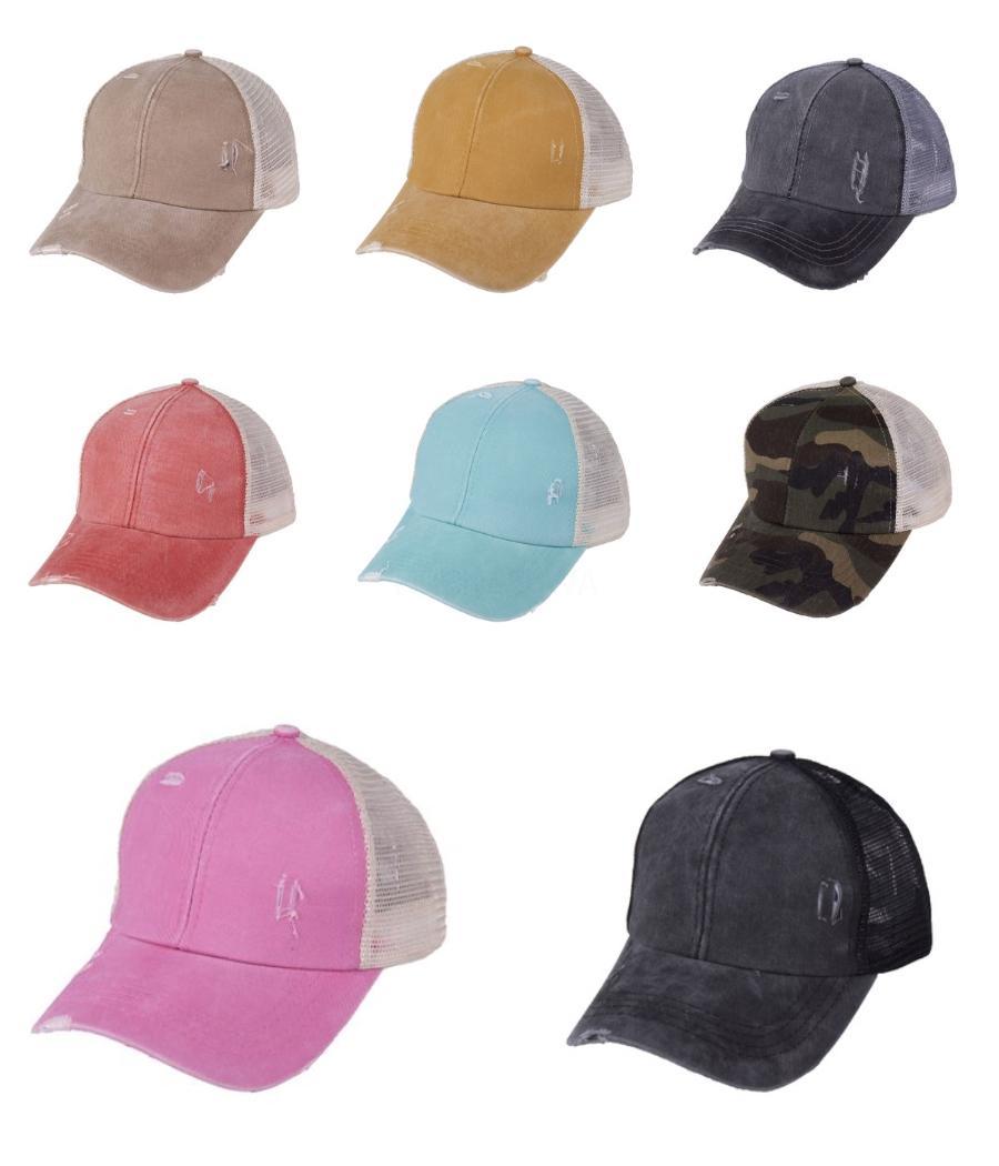 Tampão repicado engraxar os Gorras Snapback Caps Baseball Cap Mulheres Esporte Gorras Hombre Restaurar antigos maneiras os velhos chapéus de basebol For Men Cap Hip Ho # 886