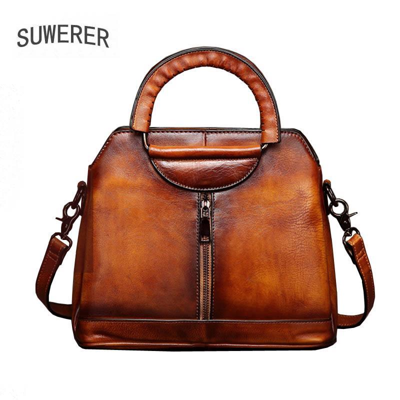 Neue Frauen-echte Leder-Beutel-Qualitäts-Rindleder Tasche Luxus Handtaschenfrauen-Designer-Handtaschen für