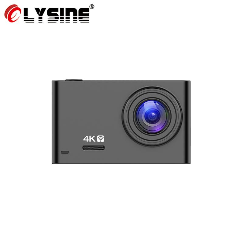 Olysine D77 WiFi Car DVR GPS Dash Cam 4K 2160p Gesture Photo Car Dash Camera Sony IMX335 Video Recorder 1080P Rear View Camera
