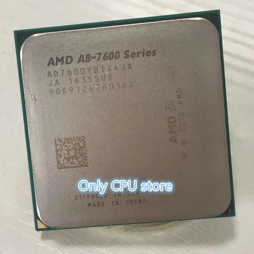 AMD FM2 + APU A8-7600 Quad-Core CPU 3,1 GHz L2 = 4M 65W Integrierte R7 Grafiken 906Pin A8-7600B Desktop-Prozessor Freies Verschiffen