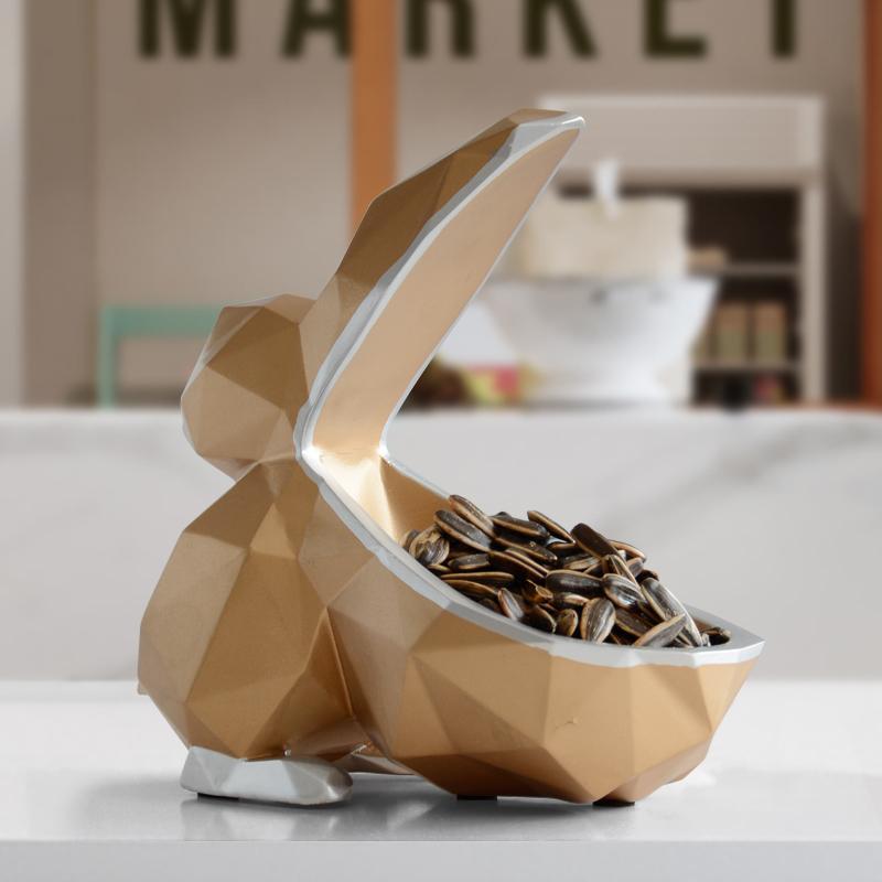 Miniatura de resina estatueta animal chave Toucan doces caixa de armazenamento Decoração para salas de artesanato enfeite de mesa T200709 armazenamento