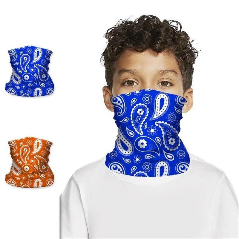 i bambini devono affrontare maschere crema solare cappuccio magico triangolo riutilizzabile lavabile maschera viso per maschere di protezione per adulti BWC664