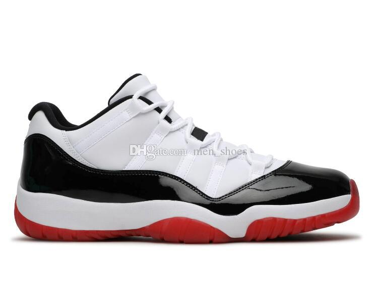 New 11 Low Concord 2020 White Bred Blue