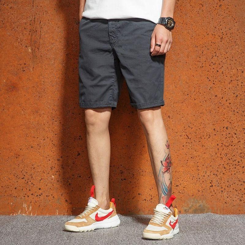 LKSXSCL 2020 Мода Jeepang стиль тонкие дышащие летом ПОХУДЕНИЯ мужские случайные пять минут, шорты брюки мужские большие шорты