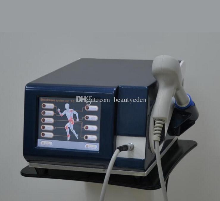 Efficace 6 Bar Système de choc physique Douleur Therapy Douleur Machine Soulagement Pneumatic Traitement Pneumatic Ed Traitement Shockwave Shock Waet Thérapie