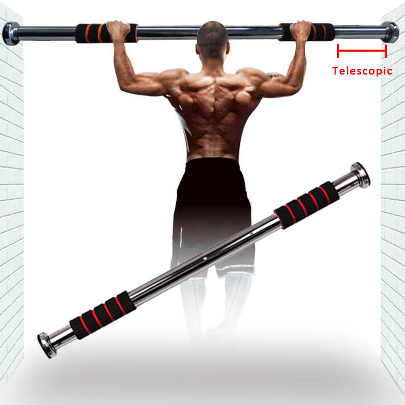 Kapı Yatay Ayarlanabilir Ev Havuz Egzersiz Çene Yukarı Çekme Yukarı Eğitim Bar Sport Spor Sit-up Ekipmanları T200713 Barlar