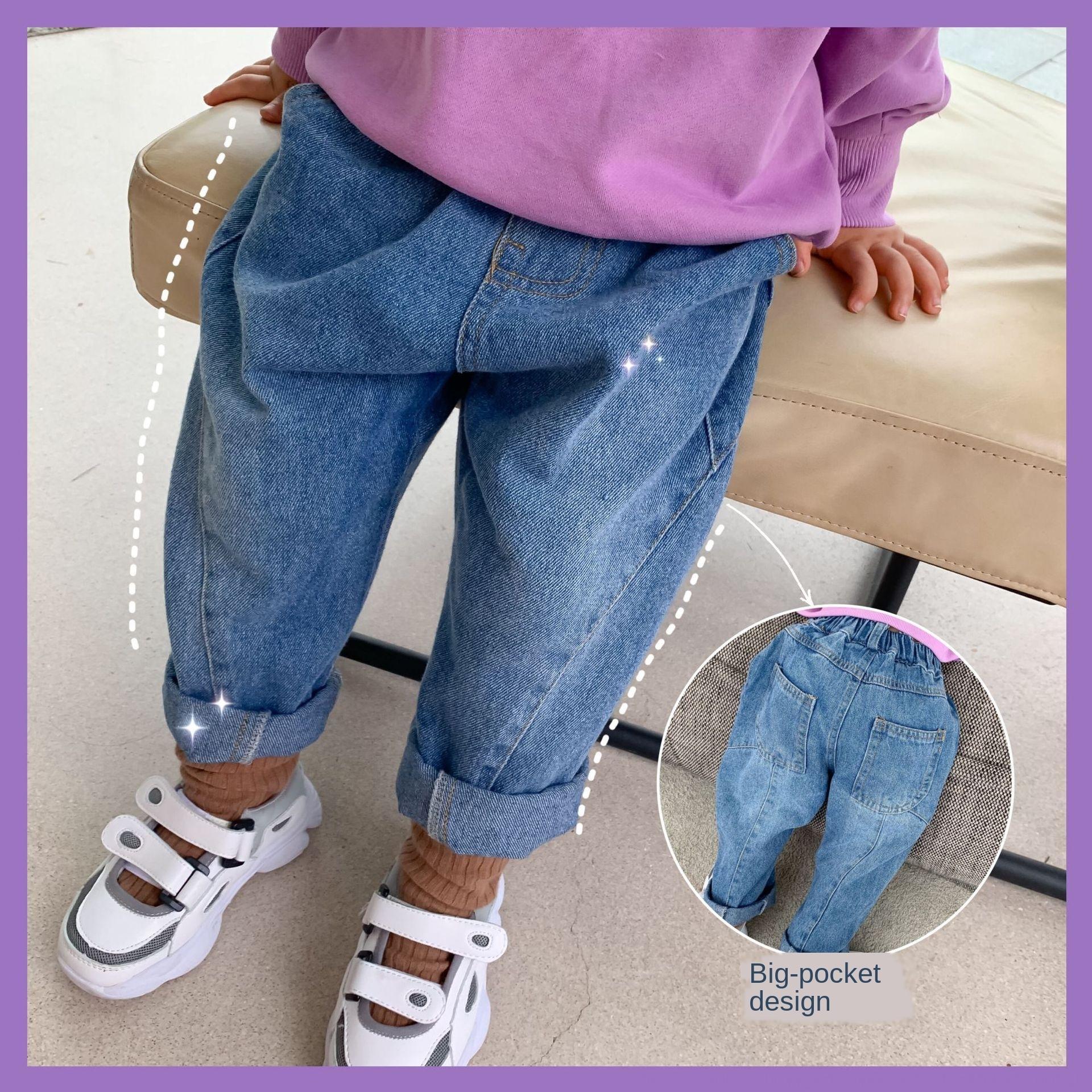 LZJ7S Brilliant детской одежды 2020 осень Новой западный стиля детской девочки шить брюки Корейских стиля случайных брюки случайных штаны