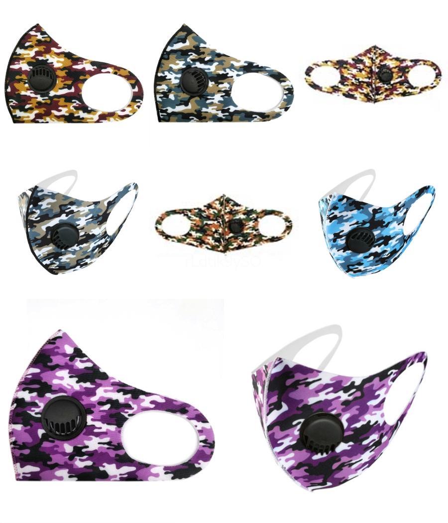 Einzelne Beutel 5 Farbe Designer Printed Maske 3-12 Jahre Black Face Er PM2.5 Mund Masken Wiederverwendbare Waschbar Schutz Chi # 617 # 695 # 955