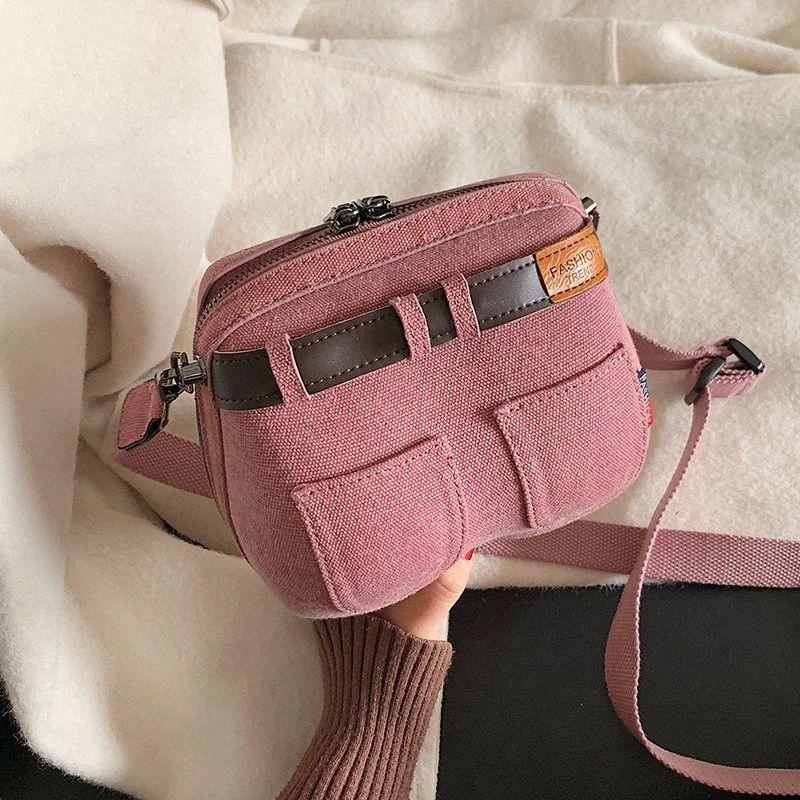 Ins Hot Denim Mulheres Bolsa Novas Casual Jeans Shoulder Bag de alta qualidade de viagem Crossbody Bag Personalidade Sacos de algodão pequenos Bolsa YM8I #