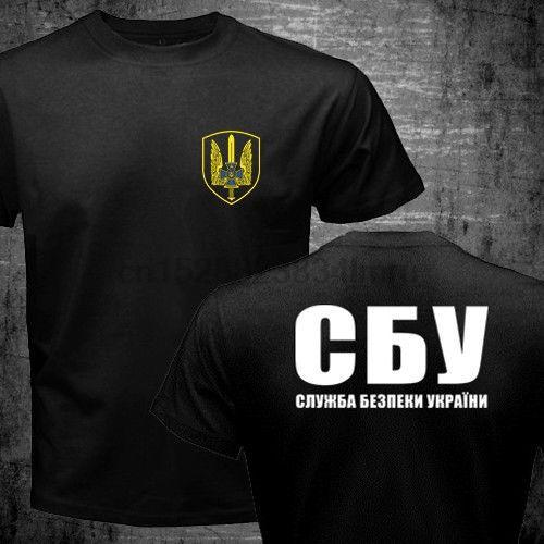 На продаже Новой моды Летнего Новой Спецназ Украина Спецназ Альфа-группы Военны-T Shirt Печать T Shirt Men