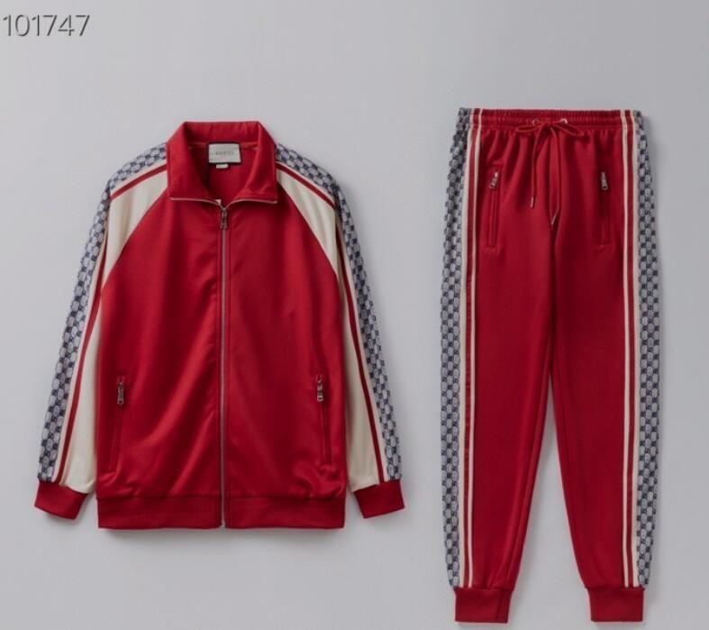 esportes italianos feitos dos homens se adequar calça casual zipper jaqueta de corrida de fitness Sportswear Jacket Pants homens de alta qualidade terno dos esportes das mulheres