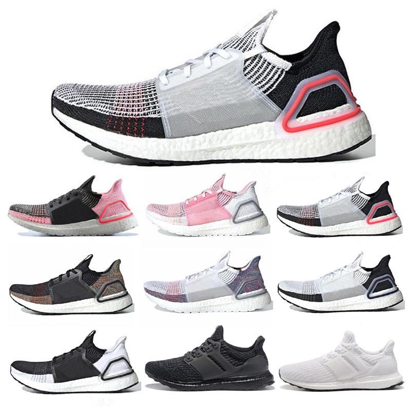Erkekler Kadınlar Oreo Refract Gerçek Pembe Erkek Trainer Nefes Spor Spor Ayakkabılar için 2020 Yeni Ultra Boost 19 ultraboost Koşu Ayakkabı