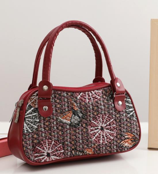 Дизайнер сумки 2020 Новое прибытие Мода женщин Портативный монет Вышитые кожаная сумка