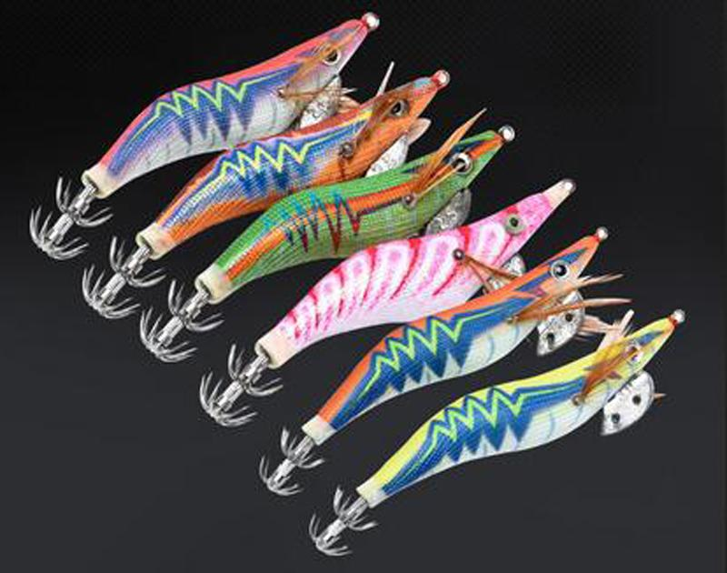 85/100/115/135/150mm Soft Simulation Prawn Fish Fishing Floating Shaped Lure Hook Bait Squid Bionic Artificial Shrimp Lures with Hook Sea