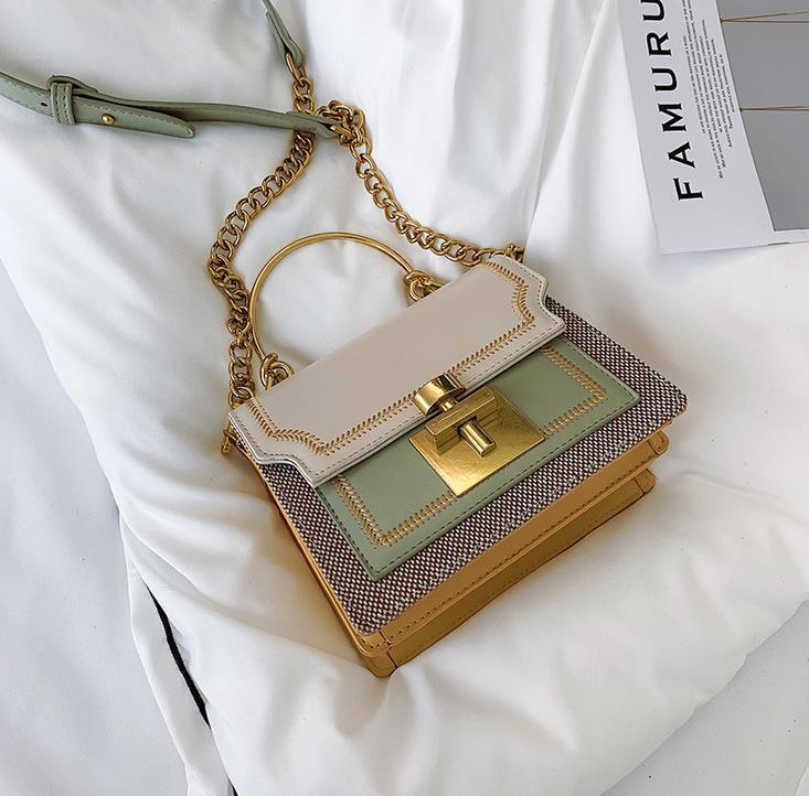 Франция Стиль New Designer Роскошные сумки Кошельки 4 цвета женщин способа конструктора мешки плеча PU Luxury Crossbody сумка
