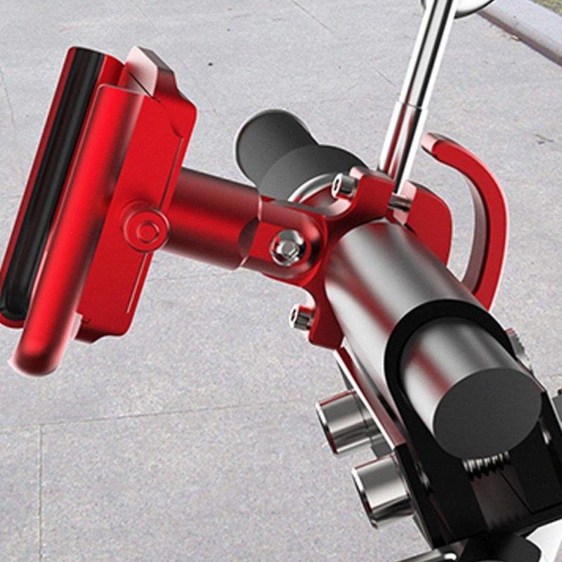 Mountain Bike Cnc Cellulare Staffa moto veicolo elettrico universale Rotary navigazione lega di alluminio della bicicletta Accessori Cycl YUUk #