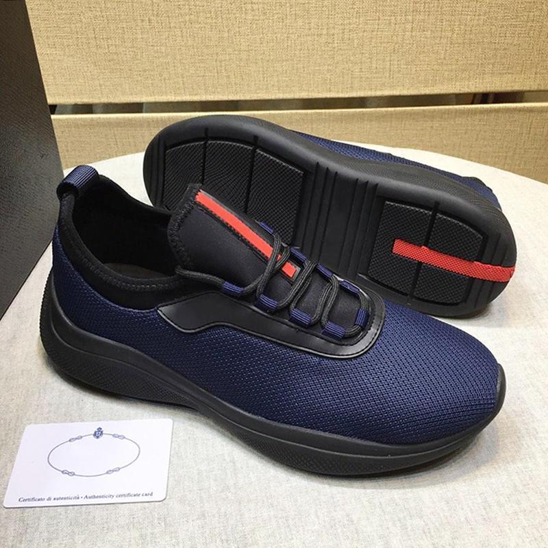 Leggero Mesh e neoprene da tennis degli uomini '; S Scarpe Autunno Inverno Sneakers Plus Size Lace -Up Men Casual Shoes Scarpe Sportive Da