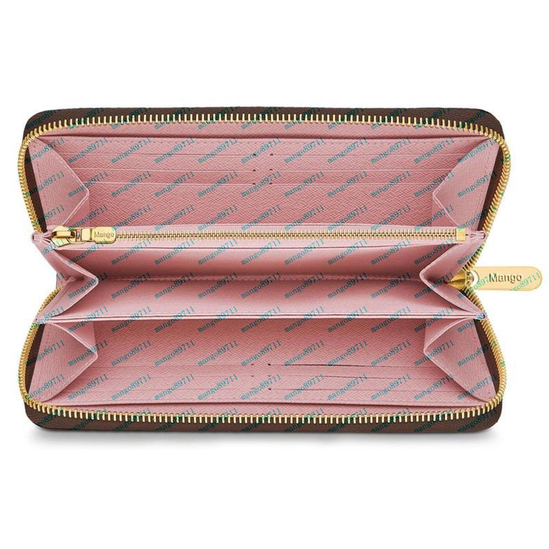 Leder-Frauen-Mappen-Münzen-Tasche Haspe Kartenhalter-Geld-Beutel-beiläufige lange Damen Clutch Phone Wallet Frauen-Geldbeutel