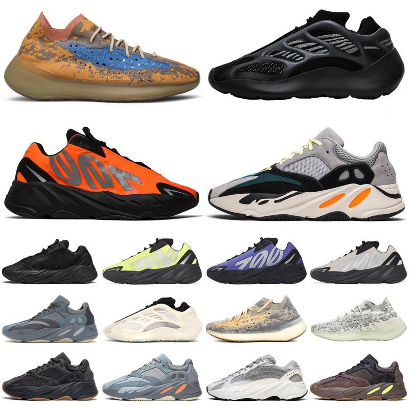 adidas yeezy boost Bleu Avoine 700 v3 mnvn vague coureur 380 hommes femmes chaussures de course triple noir orange phosphorescent mens coureurs de sport formateurs