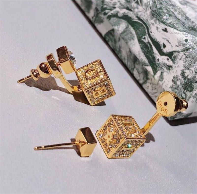 Die heiße Verkauf Würfelbecher Ohrringe mit einzigartiger Persönlichkeit