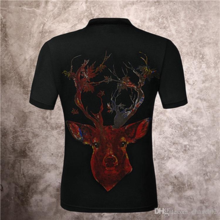 High-end Estate 2019 T-shirt Designer Marca Tutti cotone di qualità Printed T-shirt di marca manica corta T-shirt Uomo Donna Top M