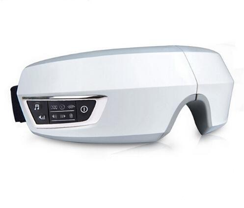 Presión de aire eléctrica del ojo del Massager con MP3 Functions.Wireless vibración ocular magnético infrarrojo lejano Heating.Usb cuidado de la visión de los vidrios Trtu #