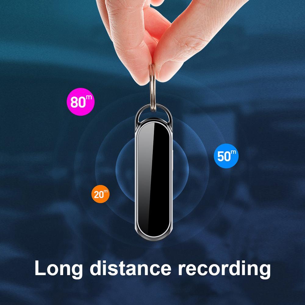 8GB 16GB chiave di video catena mini registratore vocale Full HD 1080P portachiavi mini DV supporto per telecamera la registrazione in loop