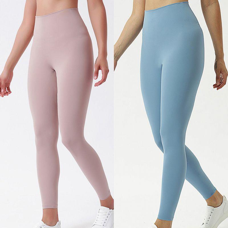 Donne pantaloni atletici dei pantaloni di yoga Solid Pantaloni Pantaloni Donna ragazze in esecuzione Yoga Outfits signore ghette delle signore dei pantaloni di allenamento