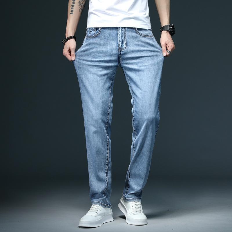 HPsdo 2020 nouvelle lâche sarouel cheville liée br de la mode des hommes et des pantalons jeans et un jean sport à la mode de style coréen pantalon long occasionnels pour moi