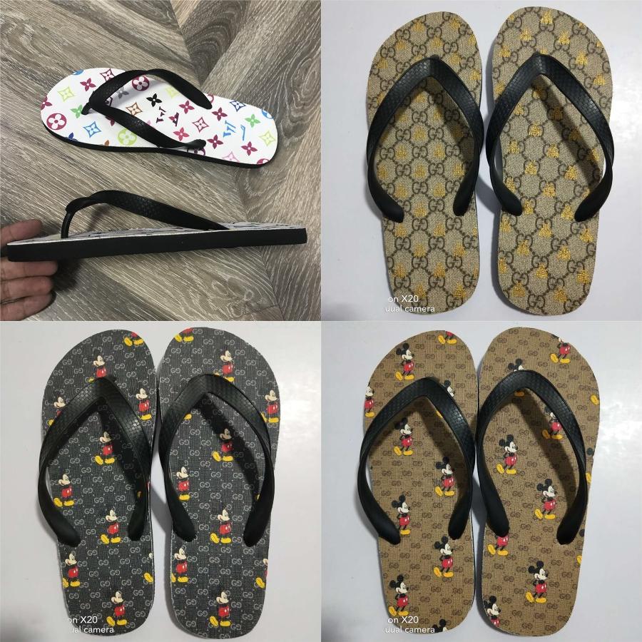 As mulheres de Sliders Sandálias do verão Sandálias Hoom Casa de Banho Pavimento Simples difíceis Shoes Chinelos Com Original Box Wee Praia Flip Flops Slippe # 633