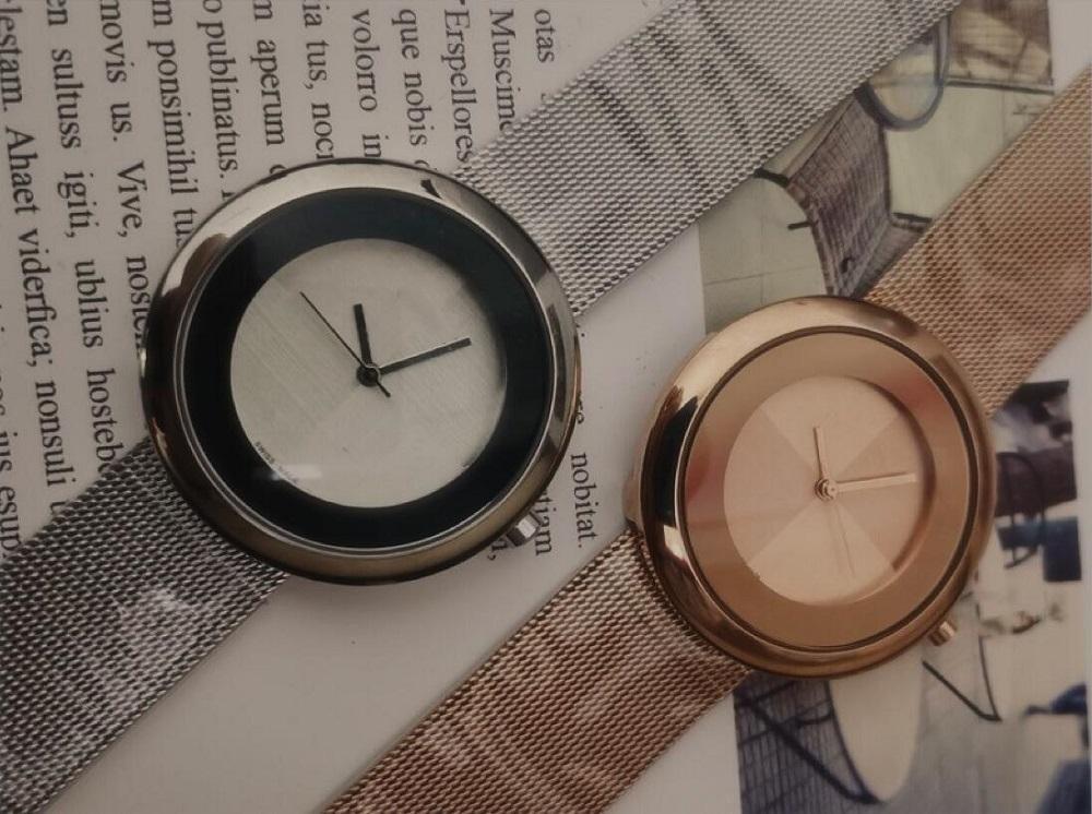 Top Brand relogies для мужчин Relojes Lady Steel Chain WristWatch Роскошные кварцевые часы высокого качества отдыха модельера часы