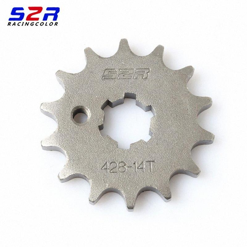 S2R Motorcycle 428 14T Front Sprocket Driven for FZ16 FZ-16 FZ-S FZS FZ 16 S Transmission Sprockets Drive xaRO#