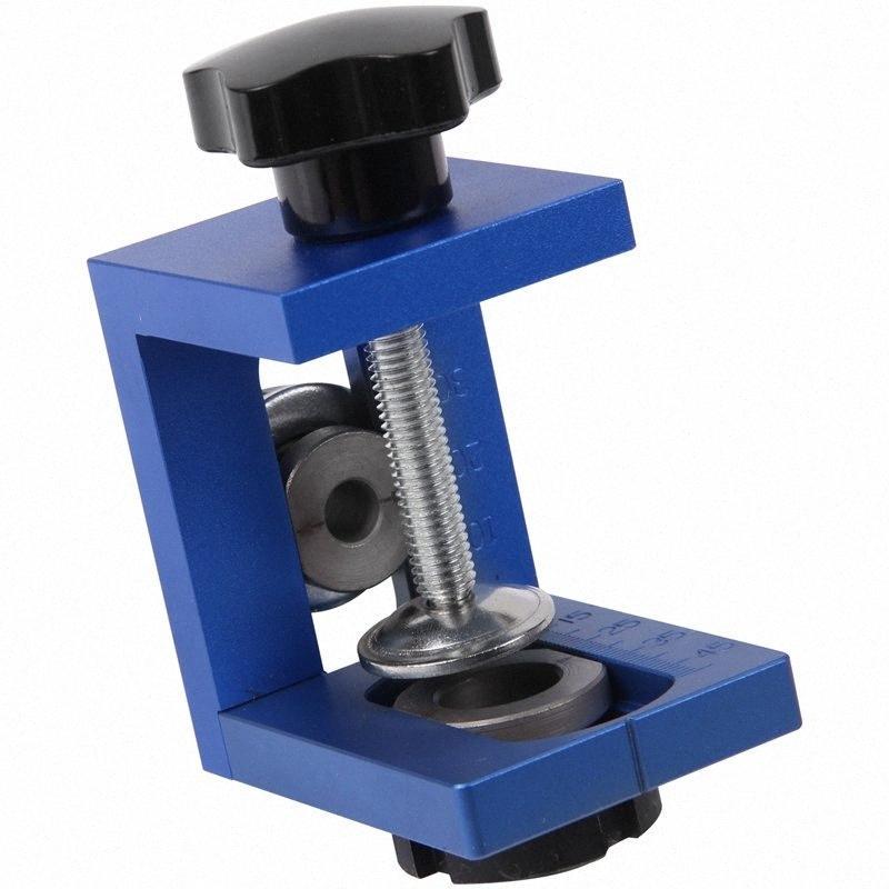 Tratamiento de la madera de bolsillo agujero Jig Kit paso de taladrado cajeadoras plantilla Conjunto Carpintería Espiga de Madera de perforación Guía de ubicación de los dispositivos PVnW #