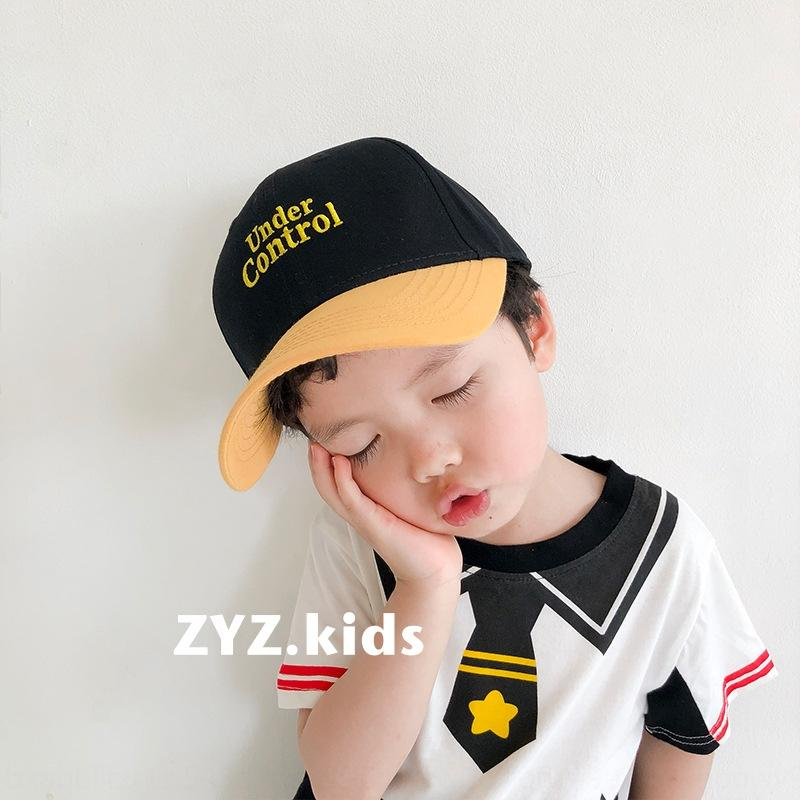 cJP8X l Farbe Spitz Sunscreen Baseball passende Kinderbriefe Accessoires Hut Jungen und Mädchen Schirmmütze Allgleiches Baseballmütze K ipzb5