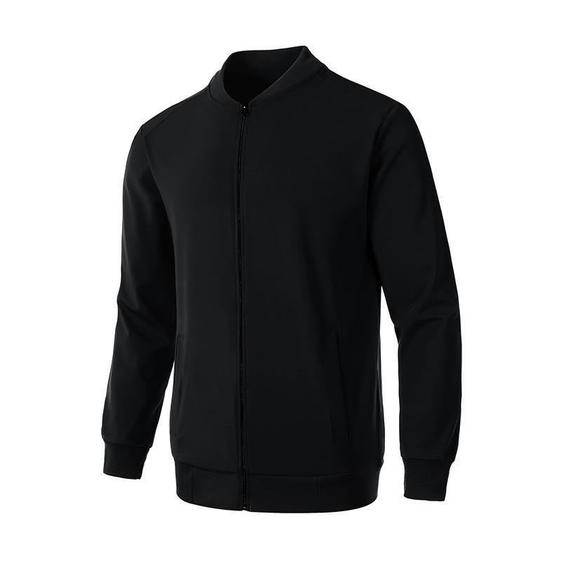 디자이너 자켓 고품질 남성용 코트 남성 동향 솔리드 컬러 지퍼 자켓 슬림 패션 자켓 코트