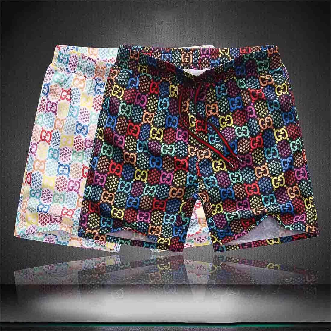 35ss Мода Марка плавательного бордшортов Письмо печати Beach Surf Шорты Купальный костюм Летние пляжные брюки роскошный люкс мужские дизайнерские шорты бесплатно