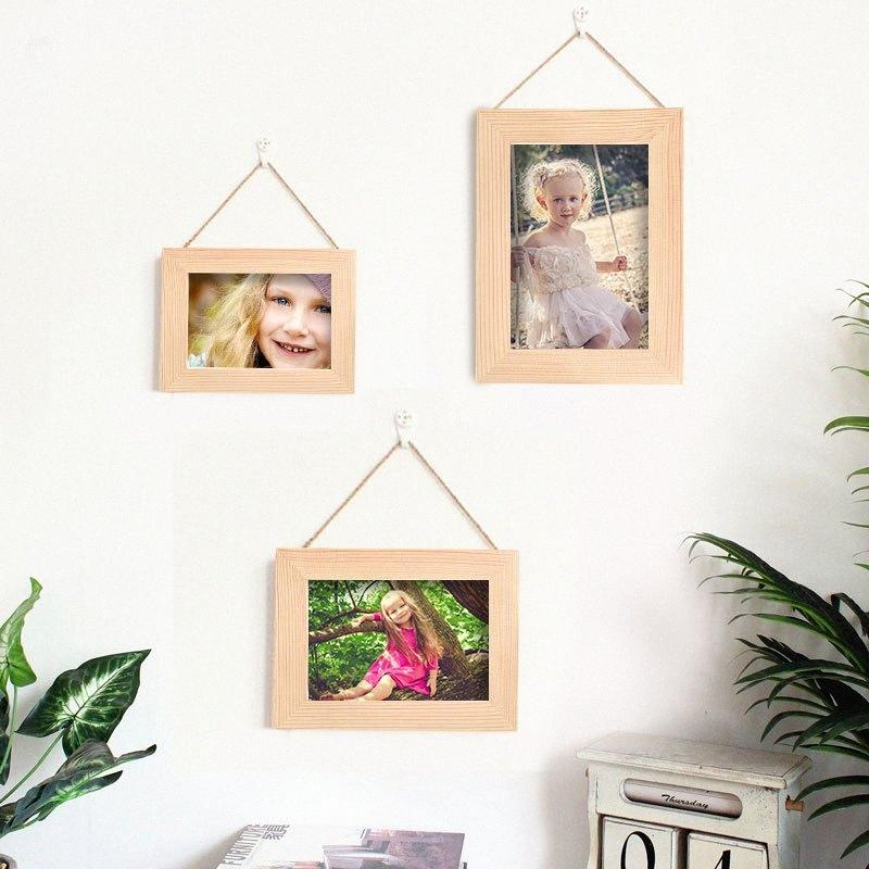 Art Frame Blank Frame Wooden Practical Beautiful Draw Arts and Crafts Canvas Oil Painting Wall Decoration Furniture IEzZ#