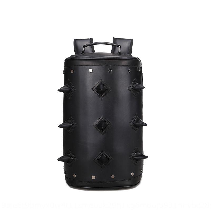 zFnQB Пу стильный прохладный персонализированные противоугонной водонепроницаемый студент Мужской рюкзак Пу стильный прохладно персонализированный противоугонный рюкзак водонепроницаемый