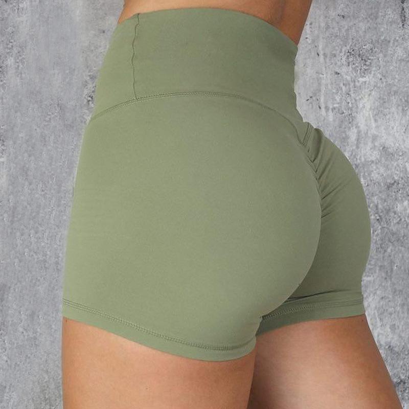 Hot-vente de remise en forme de célébrité en ligne et haut short serré à la taille des sports de course à séchage rapide conditionnement physique short femmes pour od5MQ