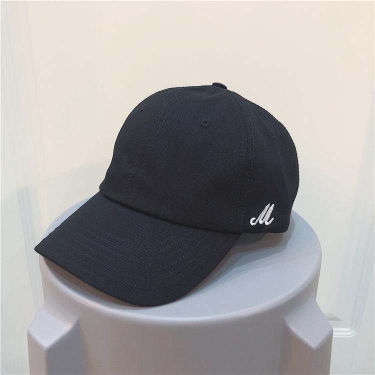 Côté M brume marée haut pare-soleil doux bleu hommes solides d'été pour les enfants de chapeau de couleur casquette de baseball de baseball version coréenne