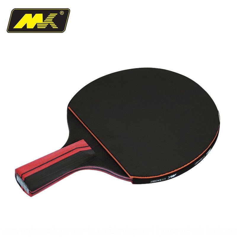MK mesa de tenis terminó solo seis de seis estrella de la serie de tenis de mesa S1 raqueta de la raqueta horizontal directa de doble cara anti-cola