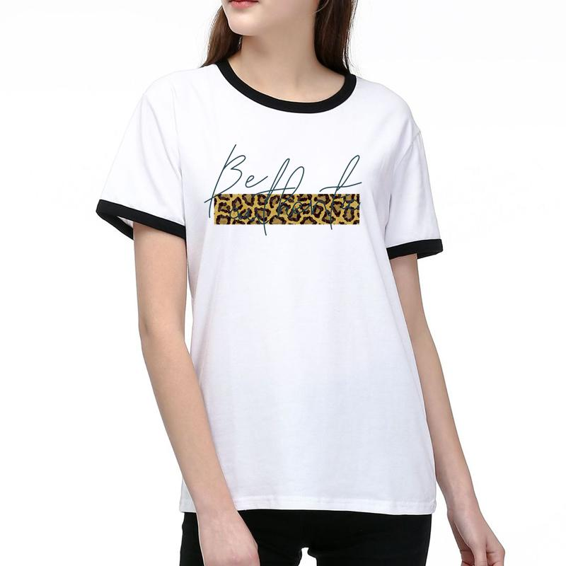 Mulheres New Style camisetas Summer Fashion Tops Pattern Lady Tees respirável manga curta Impresso Tees shirt mangas curtas