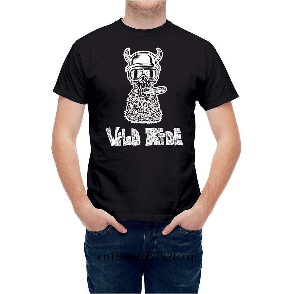 100% algodón de la manera del verano camiseta de los hombres de la motocicleta Easy Rider inconformista fumadores hombres camiseta de manga corta