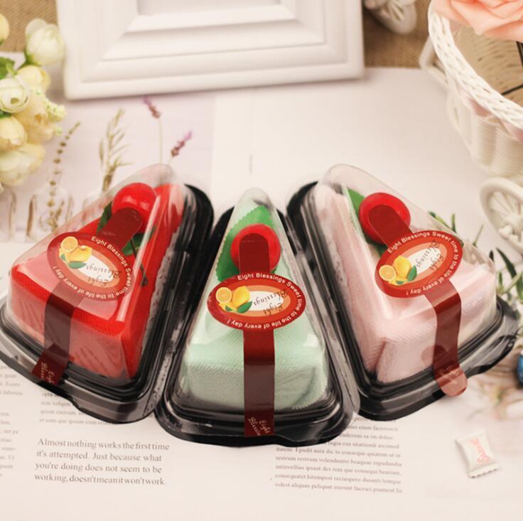 konuk partisi için renkli pasta havlu bebek duş Sevgililer Günü düğün hediyesi yılbaşı hediyeleri masa dekorasyonu ücretsiz nakliye iyilik