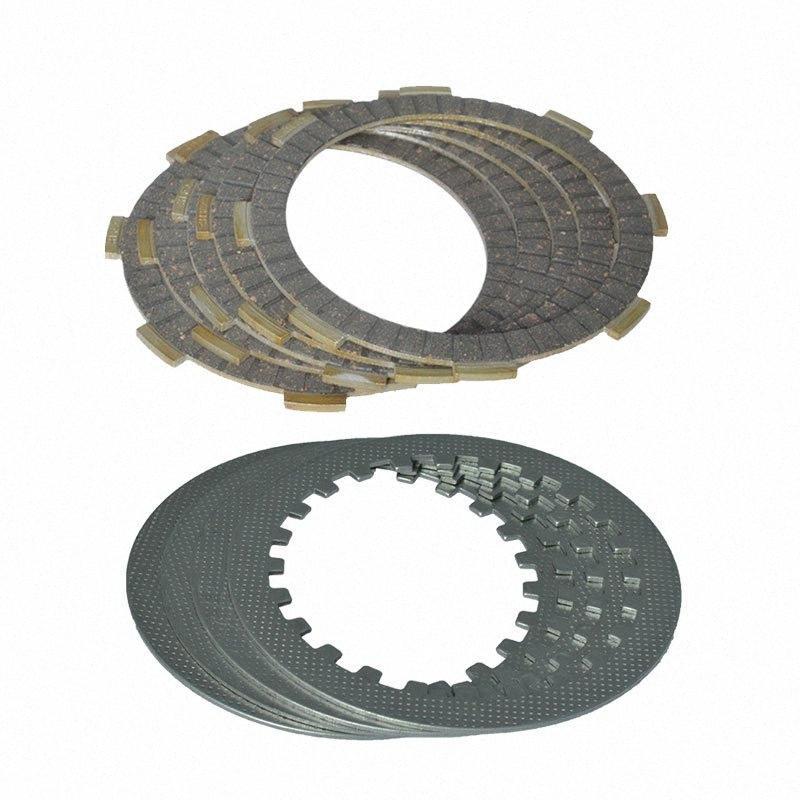 High Quality 4 Colonna della frizione (5pcs frizione Piastre + 4pcs Ferro Disc) Set Per CG125 CG 125 156FMI Replacement ujPz #