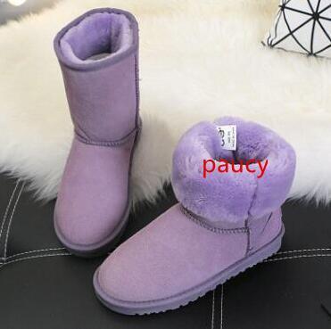 Hot 2019 trendy de style WGG 5281 Bottes enfants garçons filles enfants bébé au chaud bottes de neige qualité australienne Adolescente étudiants neige bottes d'hiver