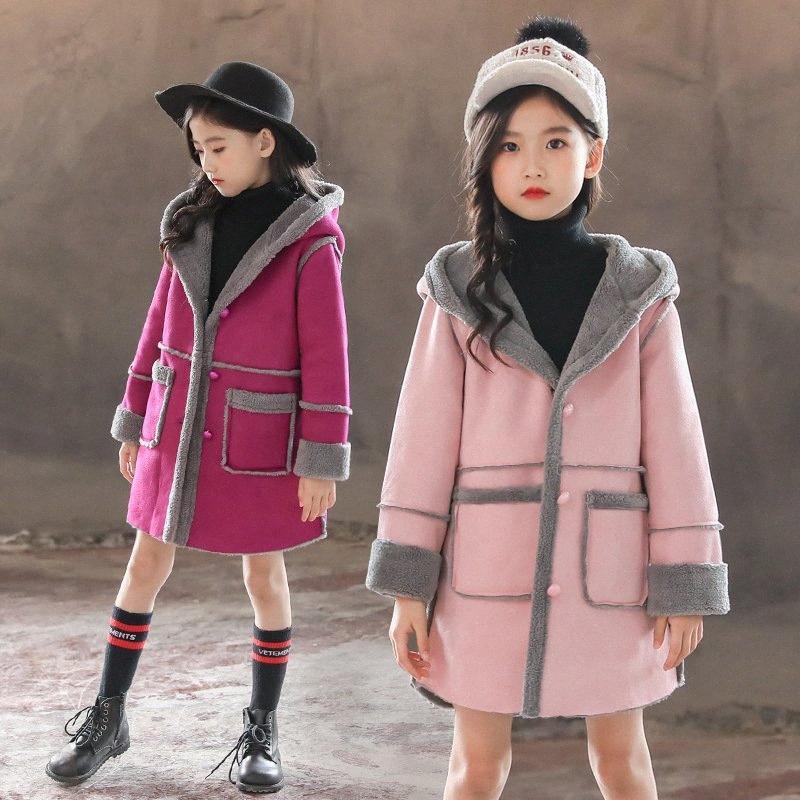 Çocuklar Kış Dış Giyim Palto Toddle Kızlar Ceketler Çocuk Coat Casual Bebek Kız Giyim Sonbahar Kış Ceket 3 12 Ye Boys Yağmur Ceket sNZu #