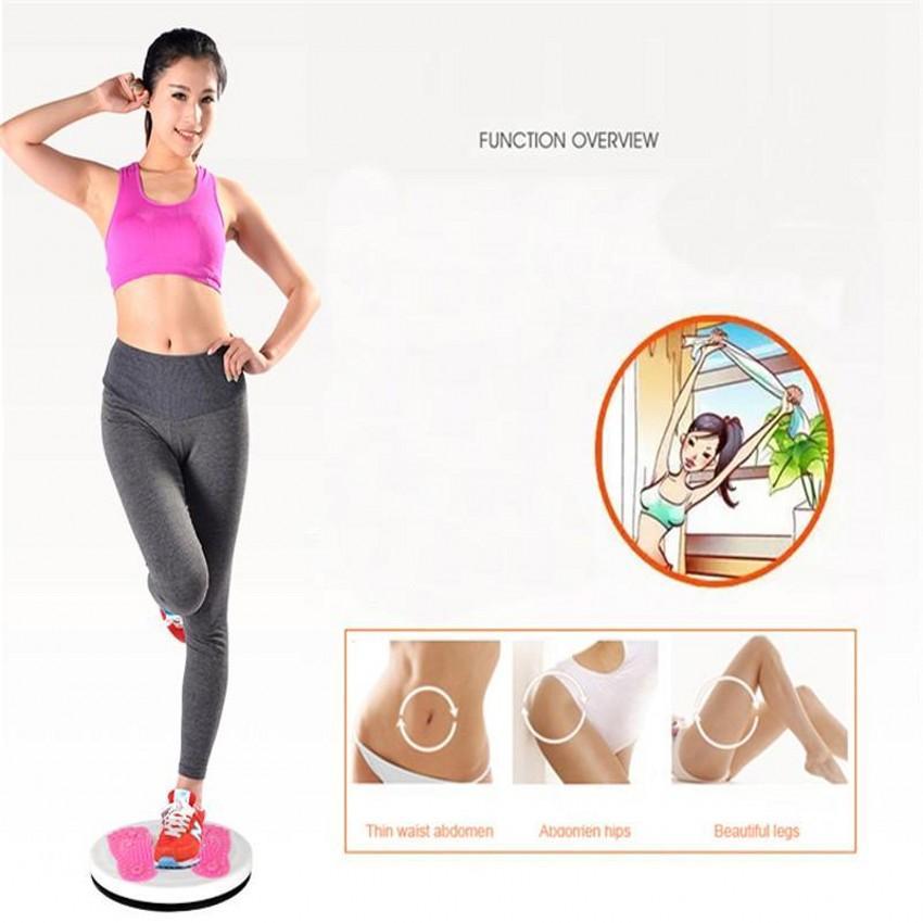 Spor Masaj Twister Plaka Mıknatıs Bel Çırpınışları Bel Büküm Disk Kurulu Kadın Ev Fitness Spor Makinesi FY6256 çevirin