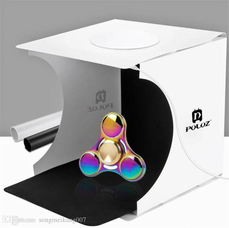 ميني استوديو الصور صندوق التصوير خلفية المدمج في ضوء صورة صندوق ليتل عناصر التصوير صندوق الملحقات ستوديو